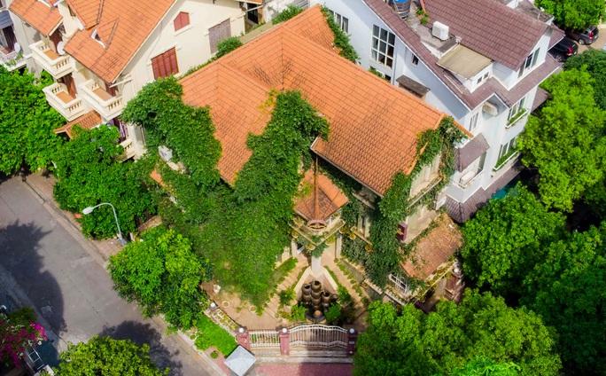Cận cảnh ngôi biệt thự phủ toàn cây xanh giúp chủ nhà tránh nắng nóng - Ảnh 4.