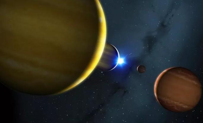 Ngày tận thế ở hệ mặt trời khác: 4 hành tinh bị bắn tung - Ảnh 1.