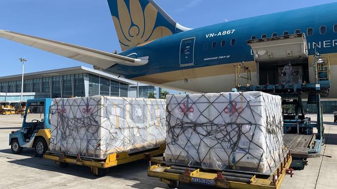Lô 500.000 liều vắc-xin Covid-19 do Trung Quốc viện trợ về Hà Nội - Ảnh 3.
