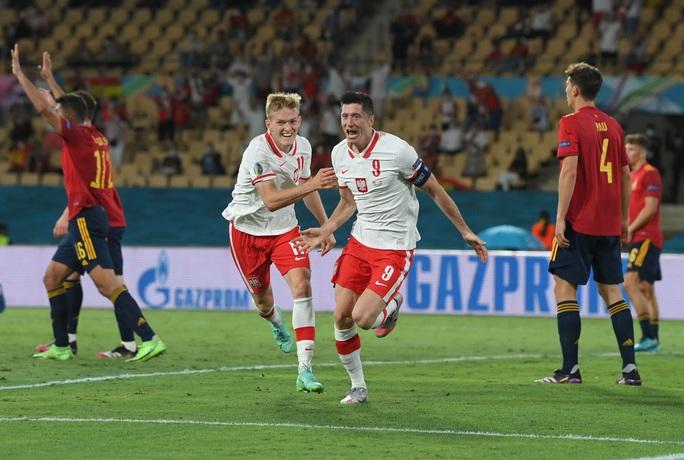 Lewandowski tỏa sáng, Tây Ban Nha đánh rơi chiến thắng trước Ba Lan - Ảnh 6.