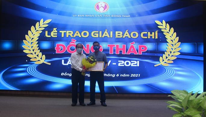Báo Người Lao Động đoạt giải A Giải Báo chí Đồng Tháp - Ảnh 1.