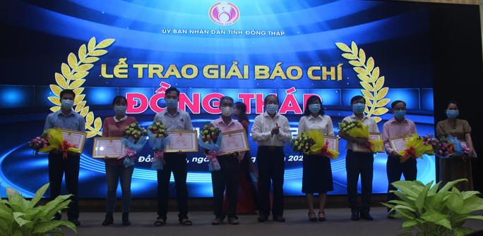 Báo Người Lao Động đoạt giải A Giải Báo chí Đồng Tháp - Ảnh 3.