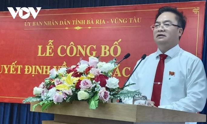 Ông Hoàng Vũ Thảnh giữ chức Chủ tịch UBND TP Vũng Tàu - Ảnh 1.