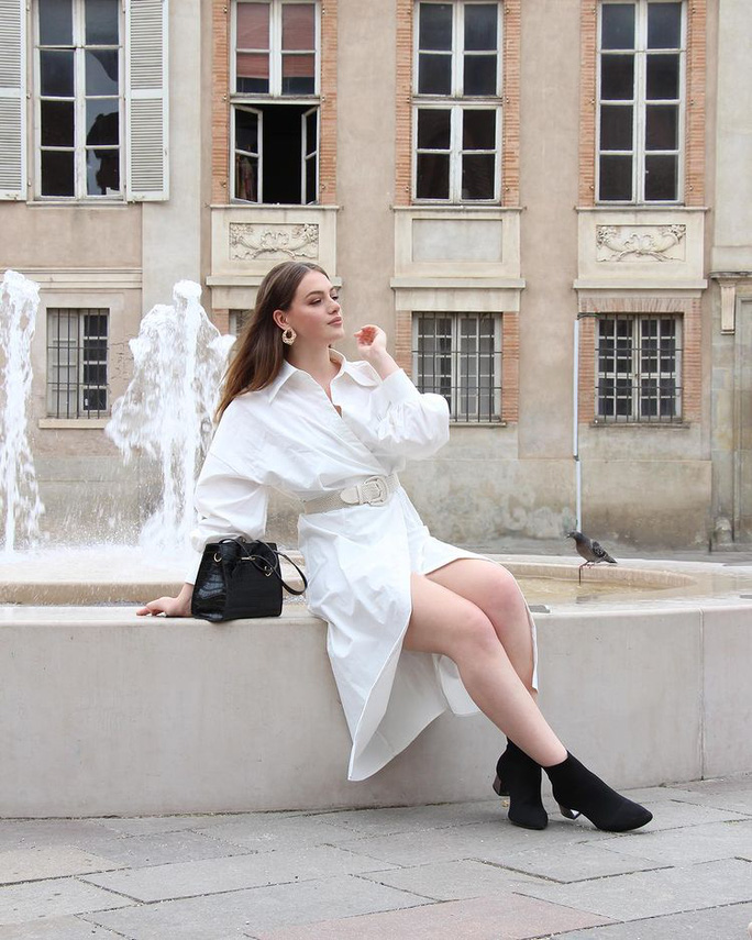 Người mẫu đăng quang Hoa hậu Quốc tế Pháp 2021 - Ảnh 3.