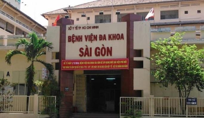 TP HCM: Một bệnh viện ở quận 1 khám bệnh, phát hiện 5 người dương tính SARS-CoV-2 - Ảnh 1.