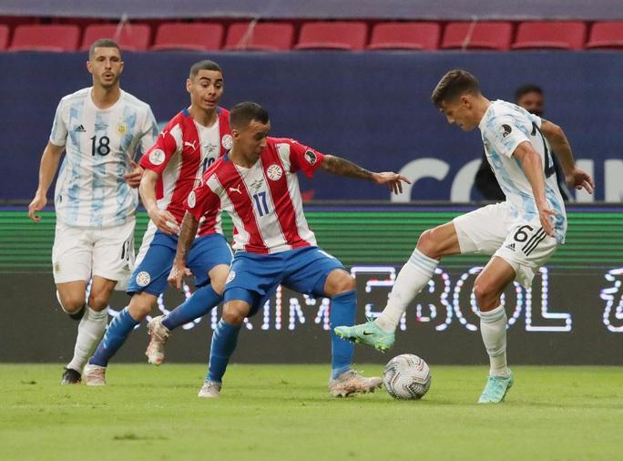 Thắng nhàn nhã Paraguay, Argentina giành vé tứ kết Copa America - Ảnh 1.