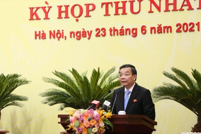 Ông Chu Ngọc Anh tái đắc cử Chủ tịch UBND TP Hà Nội - Ảnh 1.
