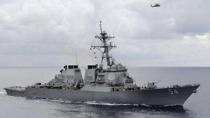 Mỹ điều tàu chiến qua eo biển Đài Loan - Ảnh 2.