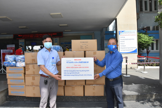 Tiếp sức Bệnh viện Phạm Ngọc Thạch, Bệnh viện Nhân dân Gia Định - Ảnh 1.