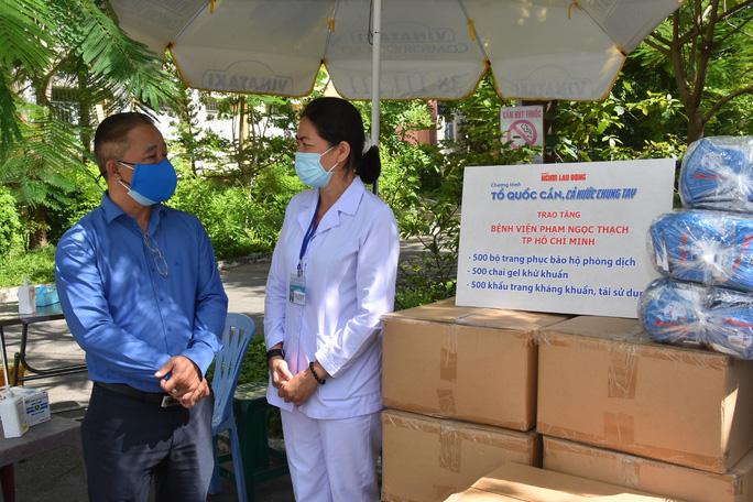 Tiếp sức Bệnh viện Phạm Ngọc Thạch, Bệnh viện Nhân dân Gia Định - Ảnh 6.