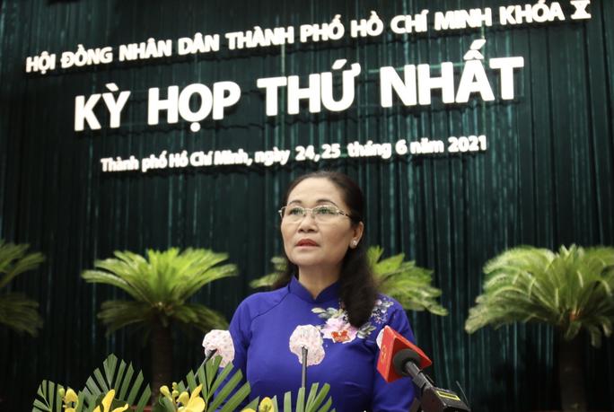 Bà Nguyễn Thị Lệ tái đắc cử Chủ tịch HĐND TP HCM - Ảnh 1.