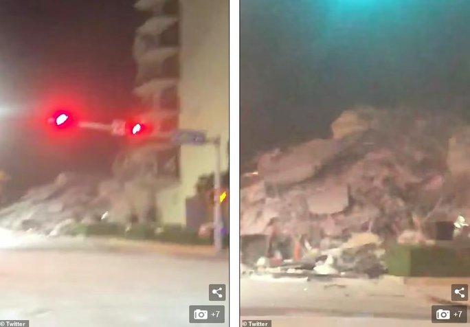 Mỹ: Tòa nhà 12 tầng bất ngờ đổ sập lúc rạng sáng - Ảnh 4.