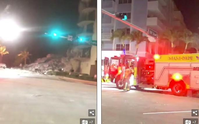 Mỹ: Tòa nhà 12 tầng bất ngờ đổ sập lúc rạng sáng - Ảnh 6.
