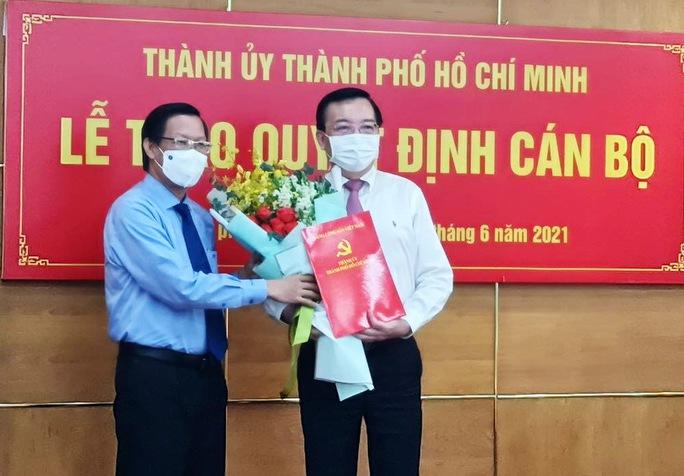 Ông Lê Hồng Sơn giữ chức Phó Trưởng Ban Tuyên giáo Thành ủy TP HCM - Ảnh 1.