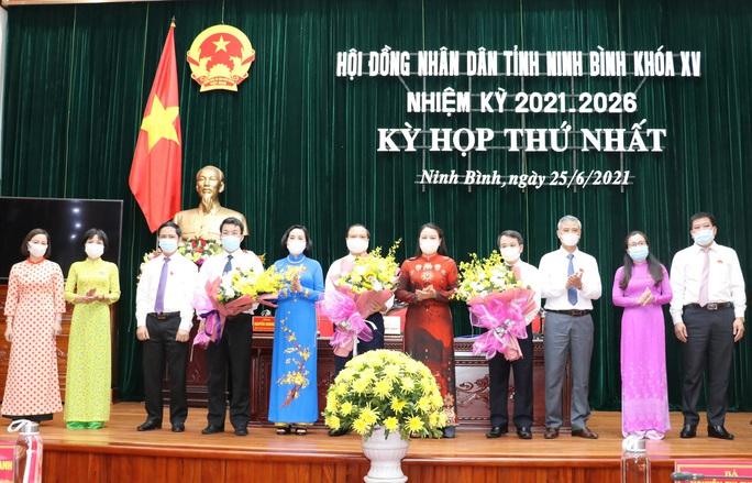 Phó bí thư Thường trực Tỉnh ủy Ninh Bình tái đắc cử Chủ tịch HĐND tỉnh - Ảnh 3.