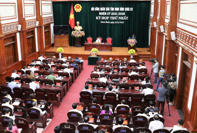 Phó bí thư Thường trực Tỉnh ủy Ninh Bình tái đắc cử Chủ tịch HĐND tỉnh - Ảnh 1.