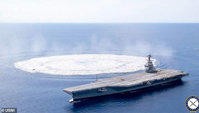 Mỹ đang cho ra đời tàu sân bay xịn nhất từ trước tới nay? - Ảnh 6.