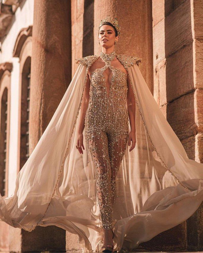 Nhan sắc cá tính của tân Hoa hậu Hòa bình Brazil - Ảnh 3.