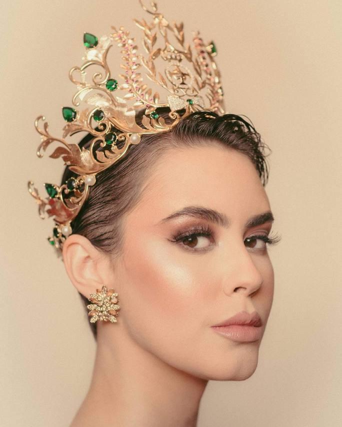 Nhan sắc cá tính của tân Hoa hậu Hòa bình Brazil - Ảnh 1.