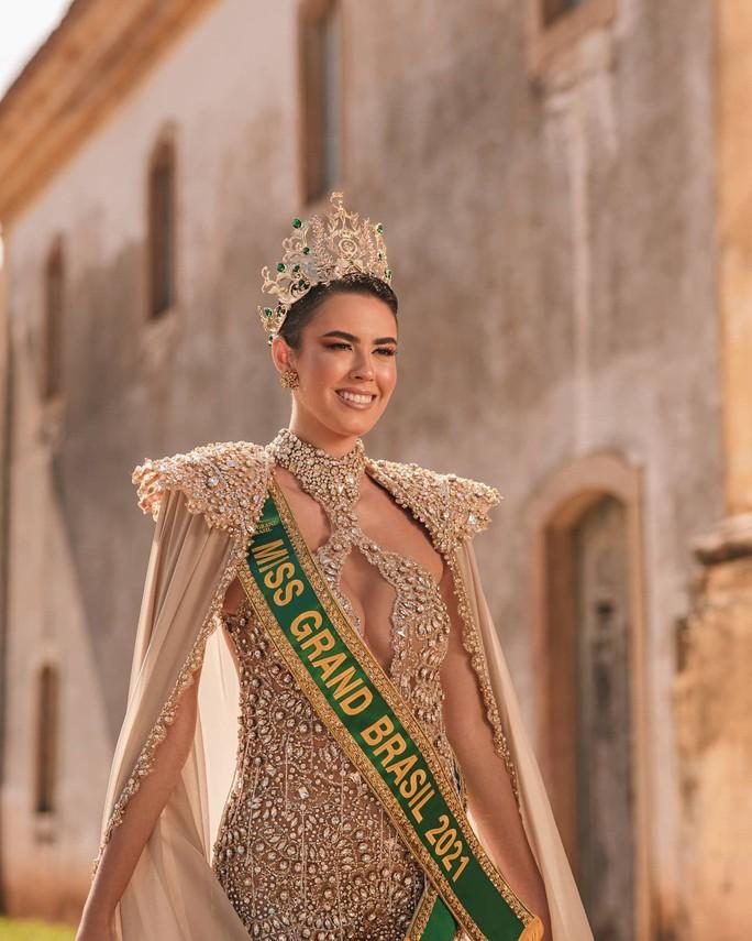 Nhan sắc cá tính của tân Hoa hậu Hòa bình Brazil - Ảnh 4.