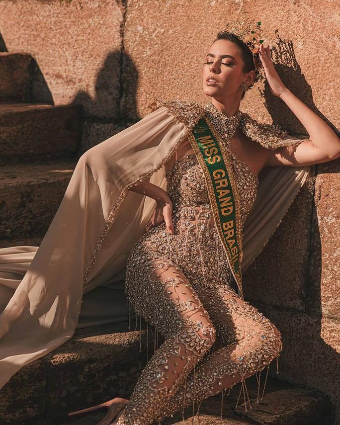 Nhan sắc cá tính của tân Hoa hậu Hòa bình Brazil - Ảnh 5.