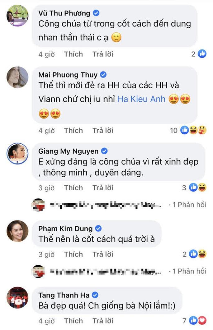 Hoa hậu Hà Kiều Anh tiết lộ là công chúa đời thứ 7 - Ảnh 3.