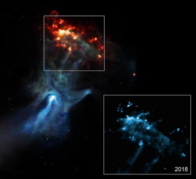 Bàn tay ánh sáng từ vũ trụ đã chạm đến con người 1.700 năm trước - Ảnh 1.