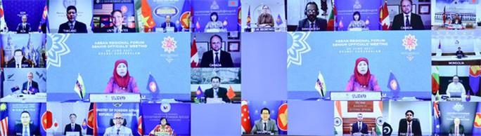 Quan chức cao cấp Diễn đàn khu vực ASEAN nhấn mạnh nguyên tắc kiềm chế ở Biển Đông - Ảnh 2.