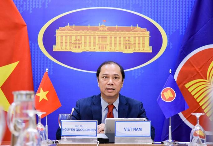 Quan chức cao cấp Diễn đàn khu vực ASEAN nhấn mạnh nguyên tắc kiềm chế ở Biển Đông - Ảnh 1.