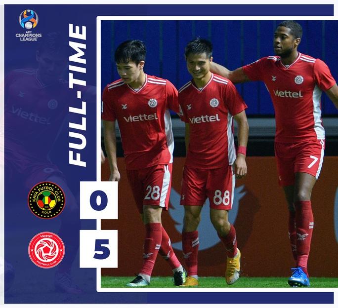 Thắng 5 sao, Viettel lần đầu tiên có điểm ở AFC Champions League - Ảnh 3.