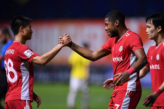 Thắng 5 sao, Viettel lần đầu tiên có điểm ở AFC Champions League - Ảnh 2.