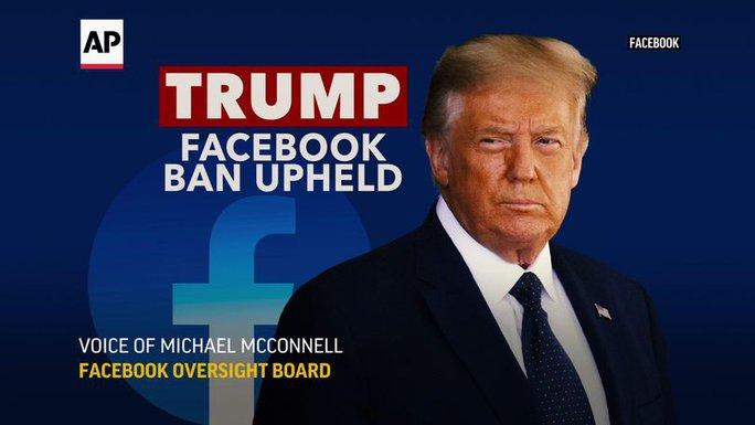 Facebook lên tiếng về hiện tượng lạ của tài khoản ông Trump - Ảnh 1.