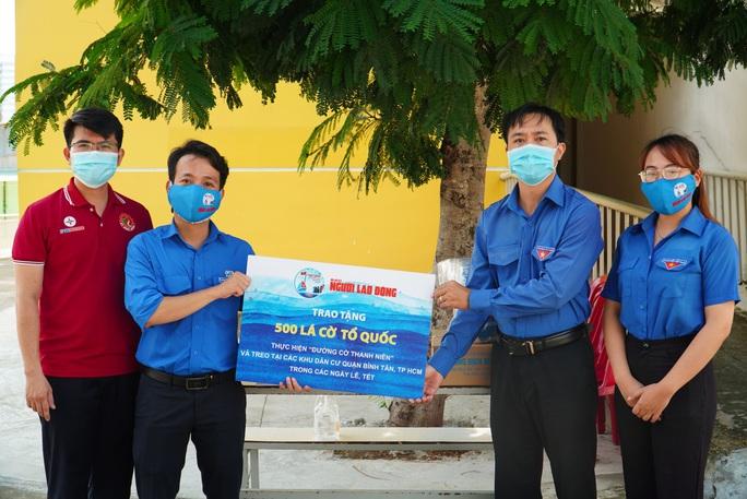 Báo Người Lao Động tiếp sức lực lượng chống dịch Covid-19 quận Bình Tân - Ảnh 2.