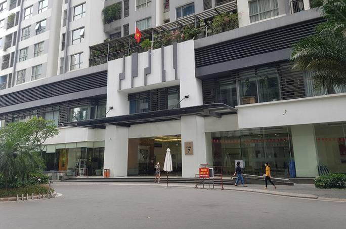 550 hộ dân toà nhà ở Times City được gỡ phong toả - Ảnh 1.
