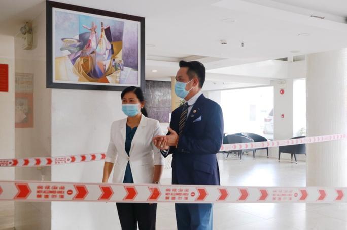 Hội Doanh nhân trẻ Việt Nam, TTC, Sacombank cùng sở Y tế TP HCM tiếp sức tuyến đầu chống dịch - Ảnh 1.