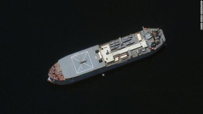 Mỹ theo dõi sát sao hành trình bí ẩn của tàu Iran - Ảnh 1.