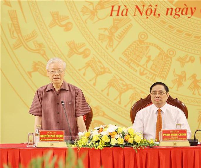 Chùm ảnh: Tổng Bí thư dự Lễ công bố Đảng ủy Công an Trung ương nhiệm kỳ mới - Ảnh 8.