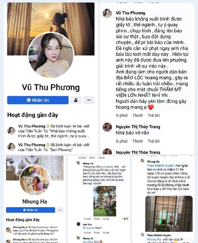 Lâm Đồng: Đề nghị xử lý trang thông tin điện tử xúc phạm phóng viên  - Ảnh 3.