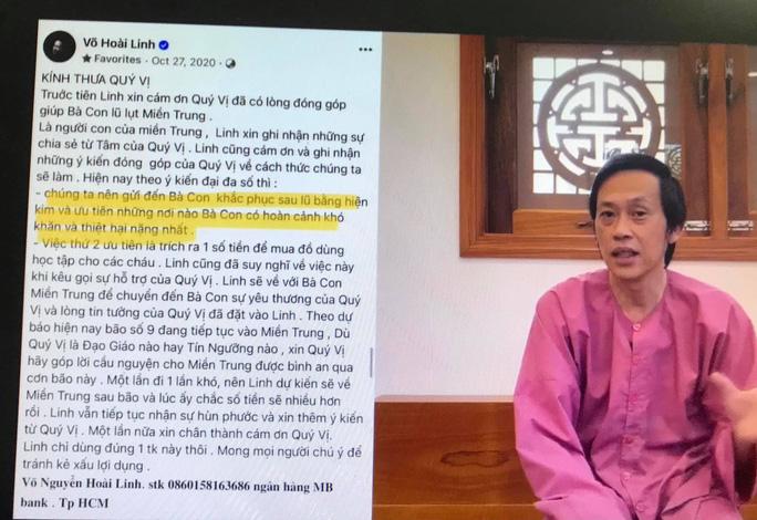 Nhận lỗi do chủ quan, NSƯT Hoài Linh giải trình về việc giải ngân số tiền từ thiện hơn 13 tỉ đồng - Ảnh 1.