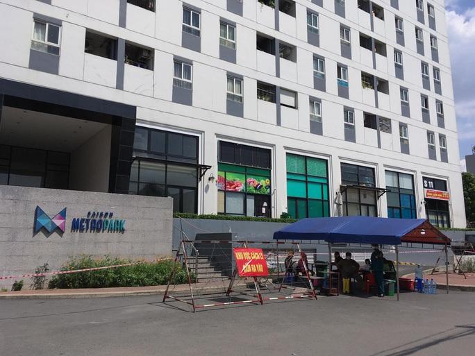 Phong toả chung cư Sài Gòn Metro Park ở TP Thủ Đức  - Ảnh 2.
