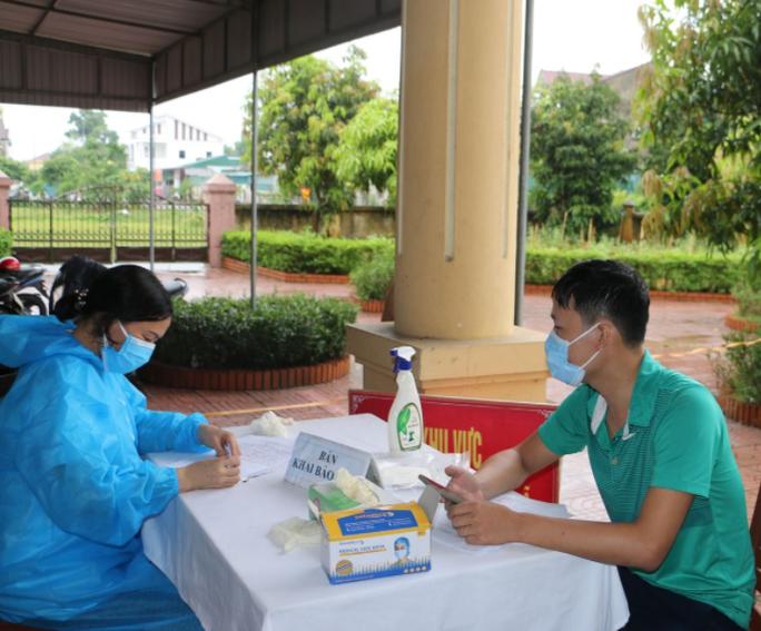 Phát hiện thêm 2 ca dương tính SARS-CoV-2 trong cộng đồng tại Hà Tĩnh - Ảnh 1.