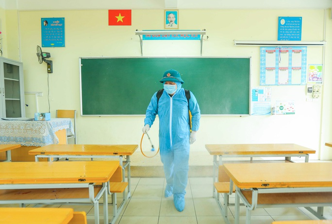 CLIP: Thí sinh thi lớp 10 bị sốt, đau ngực sẽ phải đến phòng cách ly tạm thời - Ảnh 5.