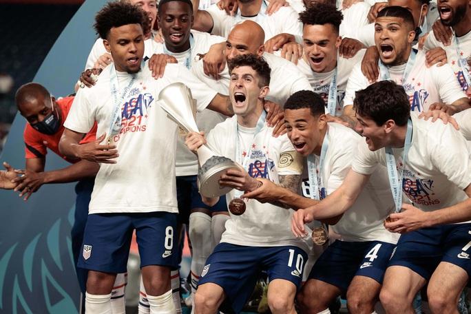 Christian Pulisic ghi bàn quyết định, Mỹ vô địch CONCACAF Nations League - Ảnh 9.