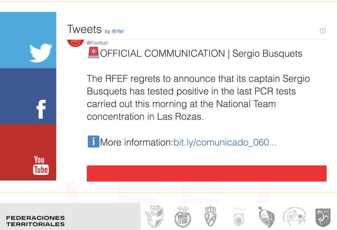 Sergio Busquets nhiễm Covid-19, Tây Ban Nha run rẩy trước Euro - Ảnh 1.