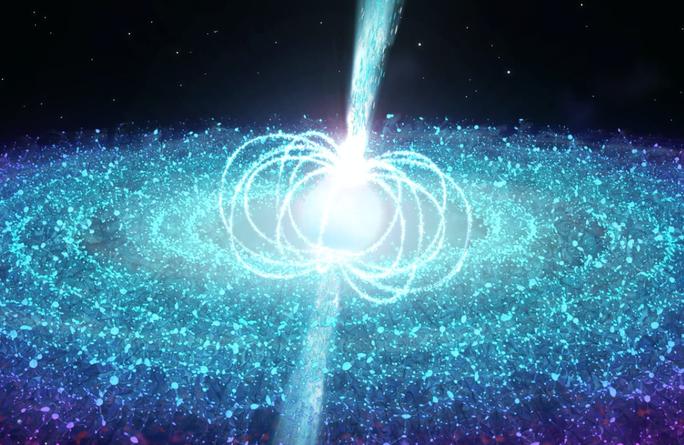 Bắt được tín hiệu từ thây ma vũ trụ mạnh hơn Trái Đất 4 triệu lần - Ảnh 1.