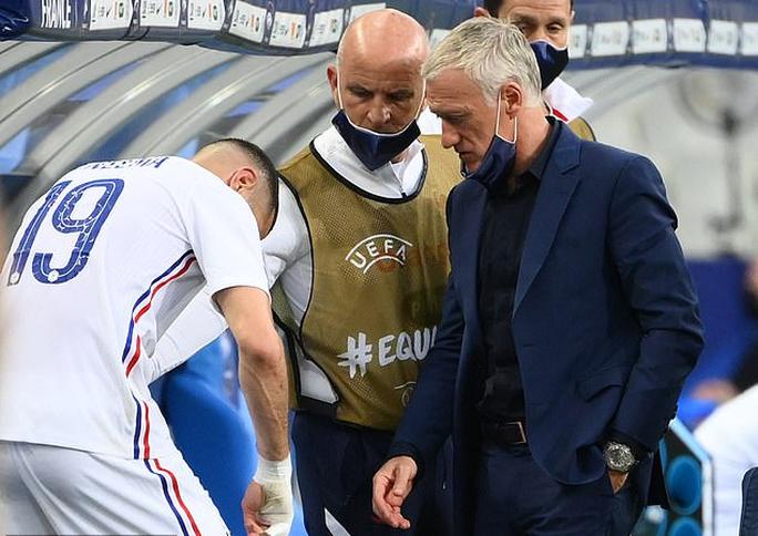 Thắng Bulgaria 3-0, tuyển Pháp lo mất Benzema đá đại chiến Euro - Ảnh 5.