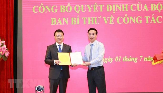 Công bố các quyết định của Bộ Chính trị, Ban Bí thư về công tác cán bộ - Ảnh 2.