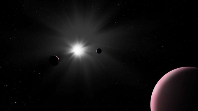 Phát hiện hành tinh ma nhiều nước gấp vài trăm lần Trái Đất - Ảnh 1.