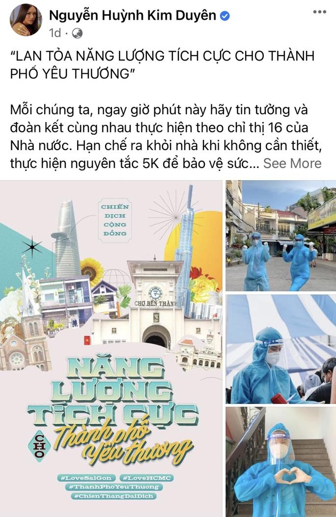 Nghệ sĩ lan tỏa năng lượng tích cực cho thành phố yêu thương - Ảnh 5.