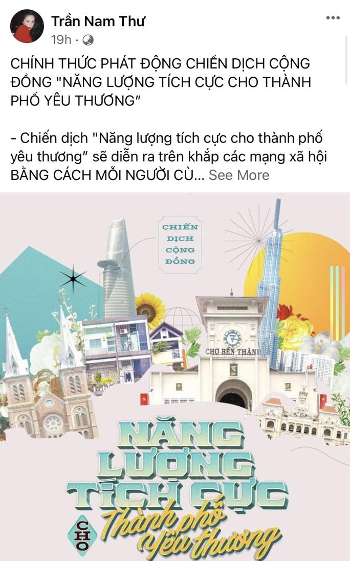 Nghệ sĩ lan tỏa năng lượng tích cực cho thành phố yêu thương - Ảnh 9.